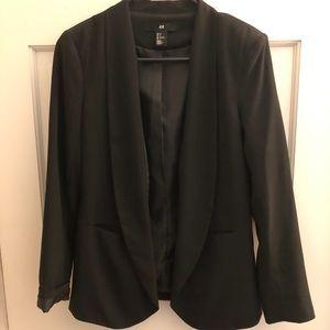 H&M black blazer. Size 4